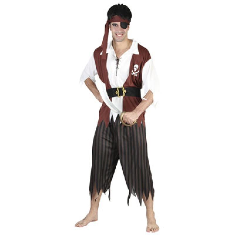Disfraz Casero de Pirata Para Hombre Disfraz Pirata Hombre