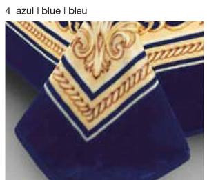 MANTA ESTAMPADA 5101 azul c4 Cama de 135/150 cms