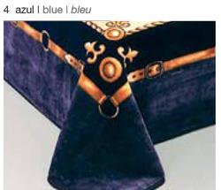 MANTA ESTAMPADA 5119 azul c4 Cama de 135/150 cms