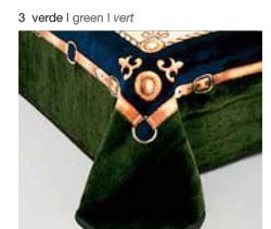 MANTA ESTAMPADA 5119 verde c3 Cama de 135/150 cms