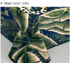 MANTA ESTAMPADA 5120 azul c4 Cama de 135/150 cms
