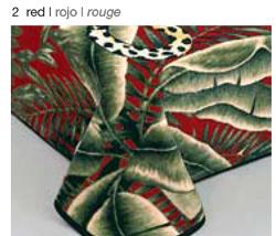 MANTA ESTAMPADA 5120 rojo c2 Cama de 135/150 cms