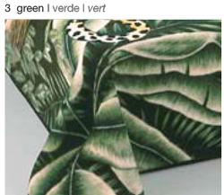 MANTA ESTAMPADA 5120 verde c3 Cama de 135/150 cms