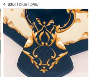 MANTA ESTAMPADA 5127 azul c4 Cama de 135/150 cms