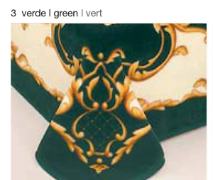 MANTA ESTAMPADA 5127 verde c3 Cama de 135/150 cms