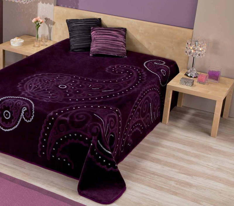 MANTA ESTAMPADA 5909 color 55 Cama de 135/150 cms