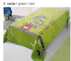 MANTA ESTAMPADA JUNIOR 5568 verde c3 Cama de 090 cmss