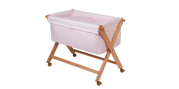 CAMITA MADERA 61 Color rosa unica (46x78cm)