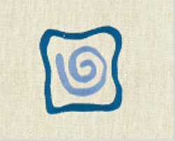 ALFOMBRA BAÑO CLAUDIA 14 - azul 50 x 80 cm