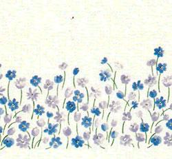 ALFOMBRA DE BAÑO MARIA 14 - azul Talla única