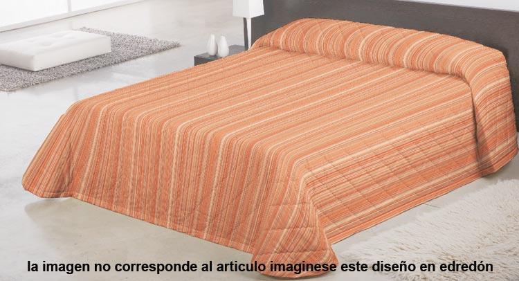 COMFORTER BARROCO 1 Color teja Cama de 150 cm