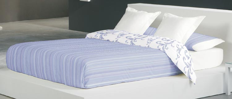 FUNDA NORDICA BARROCO 1 Color azul Cama de 150 cm