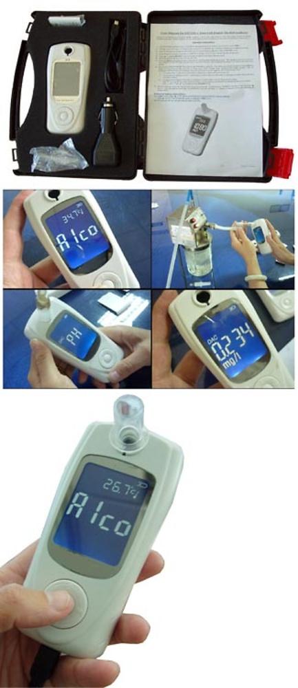 ALCOHOLIMETRO PROFESIONAL ELECTROQUIMICO CDP 8050 KIT
