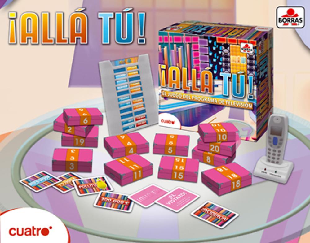 ALLA TU - EL JUEGO DE LAS CAJAS DE TELEVISION
