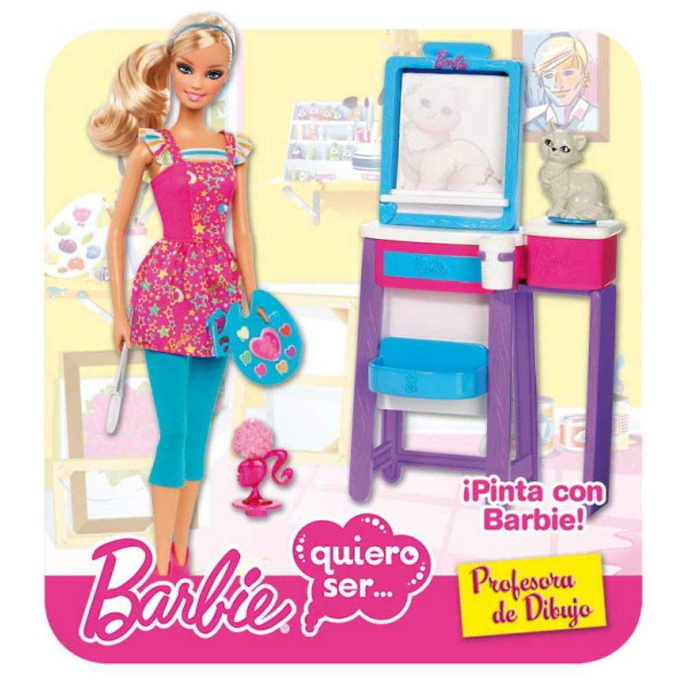BARBIE QUIERO SER PROFESORA DE DIBUJO