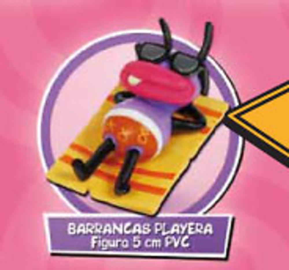 BARRANCAS PLAYERA - FIGURA PVC 5 cm.