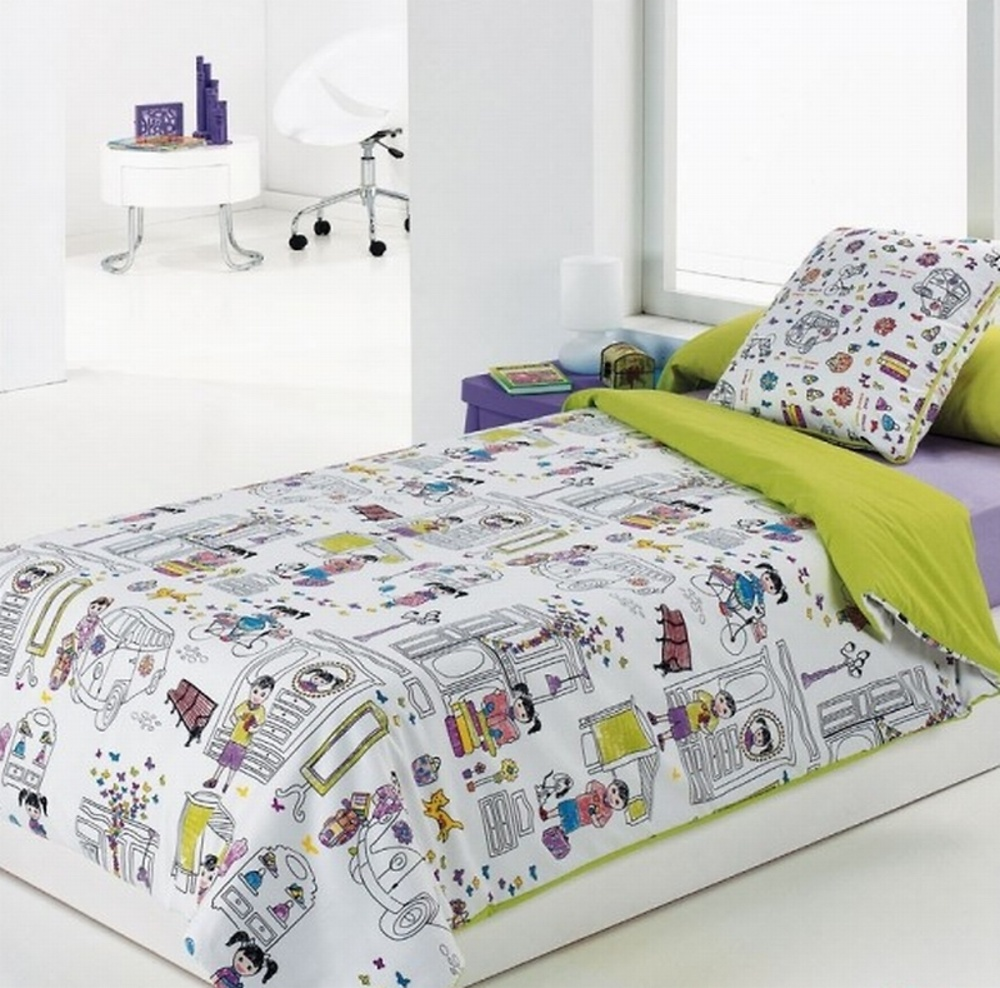 Funda n rdica kids textil hogar fundas nordicas for Funda nordica cama 80