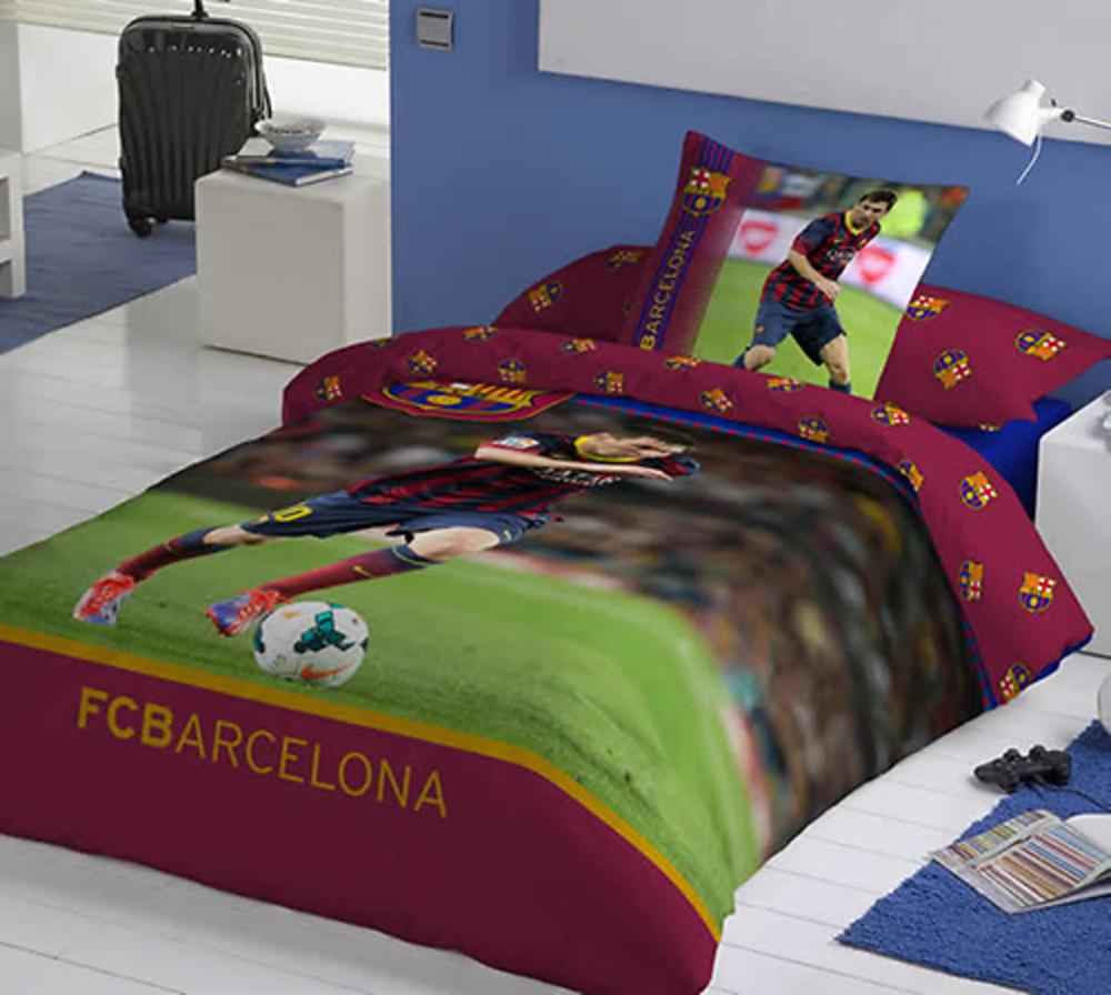 Funda nordica f c barcelona messi textil hogar fundas - Funda nordica barca ...