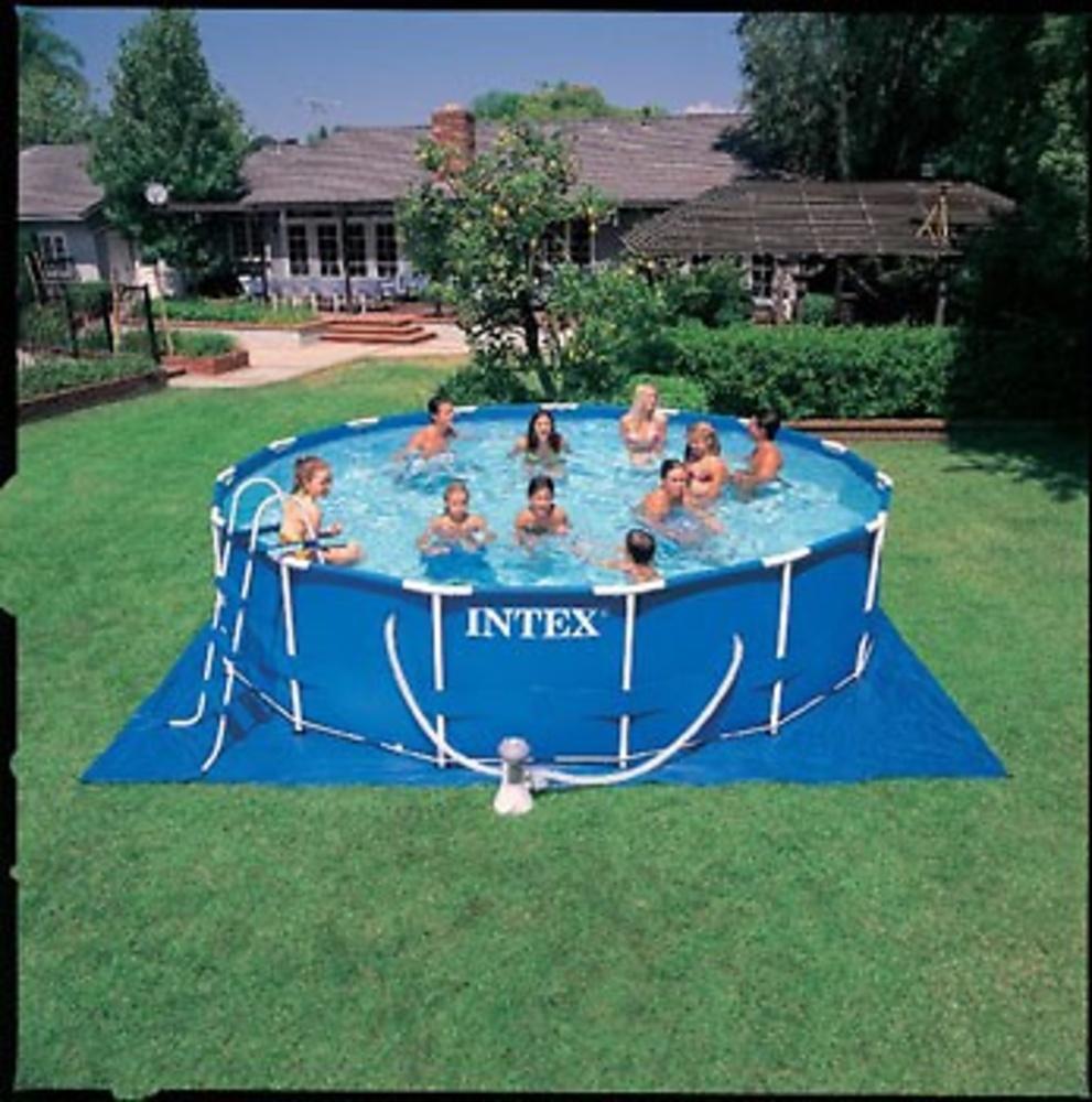 Piscina tubo redonda 457x122 cm juguetes piscinas for Piscina 457 x 122