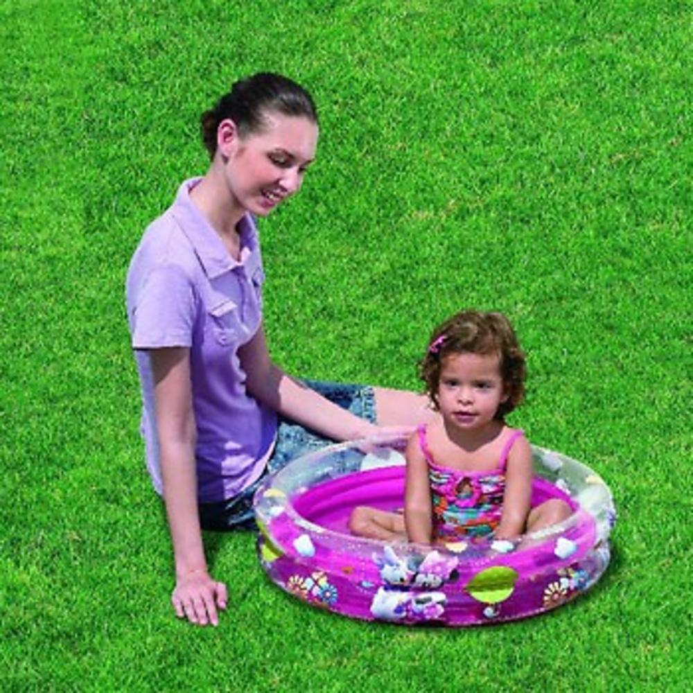 Piscina hinchable de minnie mouse y daisy para ni os y for Alcampo piscinas para ninos