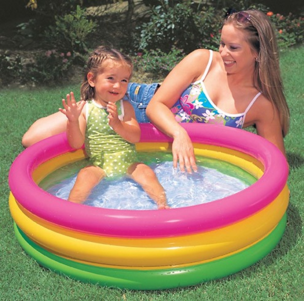 Piscina hinchable de ninos for Piscina intex cuadrada