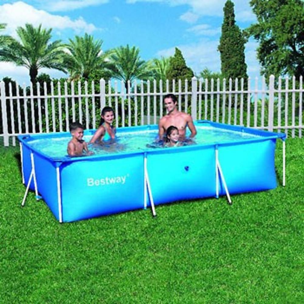 piscina rectangular splash frame pool 300 x 201 x 66 cm. Black Bedroom Furniture Sets. Home Design Ideas