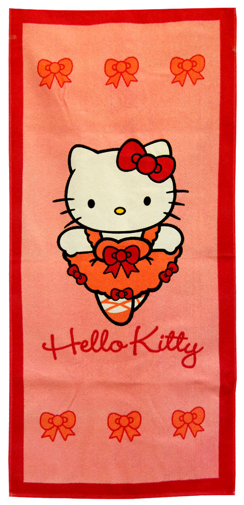 #TOALLA DE PLAYA HELLO KITTY