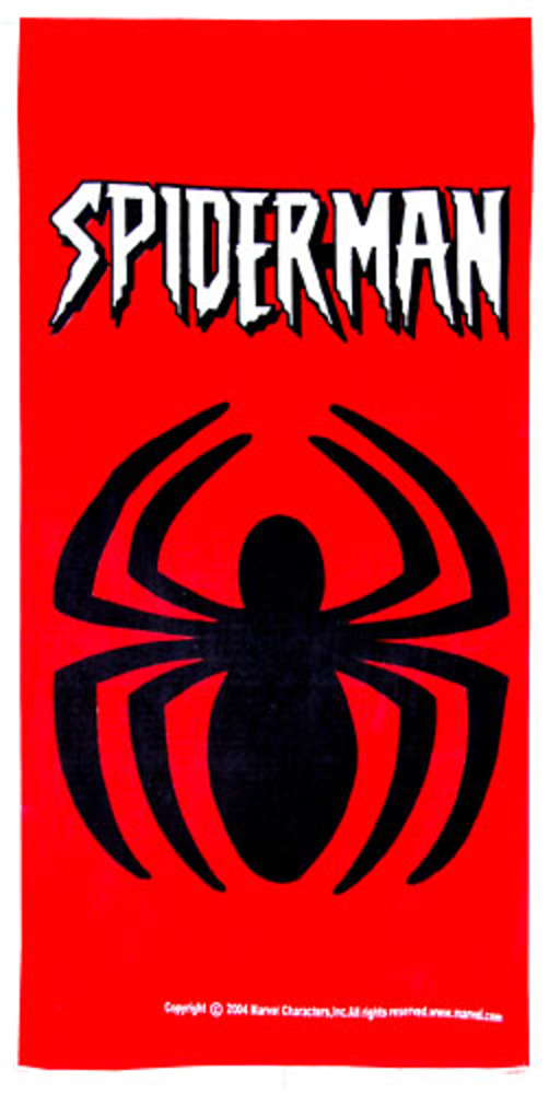 #TOALLA DE PLAYA SPIDERMAN ARAÑA