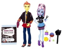 Abbey y Heath compañeros de cocina -  MONSTER HIGH