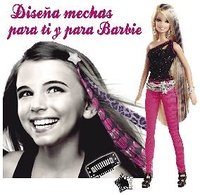 BARBIE ESTUDIO DE MECHAS