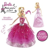 BARBIE MODA MAGICA EN PARIS