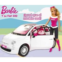 BARBIE Y SU FIAT 500