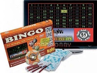 BINGO EN DVD 320 CART.Y 6 ROTUL.