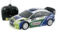 COCHE FORD FOCUS RALLY R/C 1/16 F