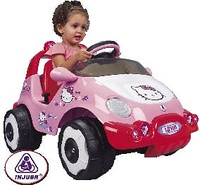 COCHE HELLO KITTY BAT.6 VOL. D