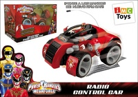 COCHE MEGAFORCE R/C POWER RANGERS