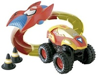 COCHE MONSTER TRUCK SPIDERMAN