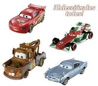 COCHE PERSONAJES CARS 2