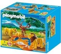 FAMILIA DE LEONES Y MONOS PLYAMOBIL - 4830