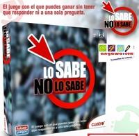 JUEGO DE MESA LO SABE NO LO SABE - CUATRO TELEVISION