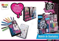 MALETIN DE DISEÑO MONSTERS HIGH