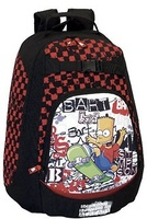 MOCHILA 30 CM. THE SIMPSONS SKATER