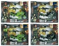MUÑECO MAX MAN 2 C/MOTO