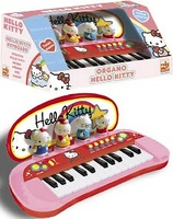 ORGANO C/PERSONAJES HELLO KITTY