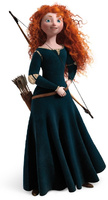 PRINCESA MERIDA BRAVE DISNEY
