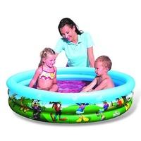 Piscina hinchable para niños y bebes con dibujos de Disney con medidas 122x25cm