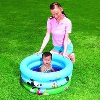 Piscina hinchable para niños y bebes con dibujos de Disney con medidas 70x30cm