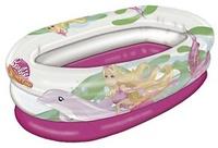 Piscina hinchable para niños y bebes con dibujos de barbie con medidas 75x45cm