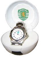 Reloj Pulsera Mediano Redondo C/Aro Sporting