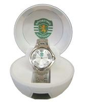Reloj Pulsera Metal Redondo Sporting